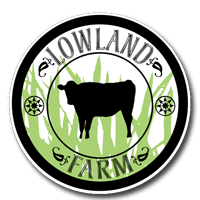 Lowland Farm Grass Fed Beef and Pastured Pork, Warwick NY Logo