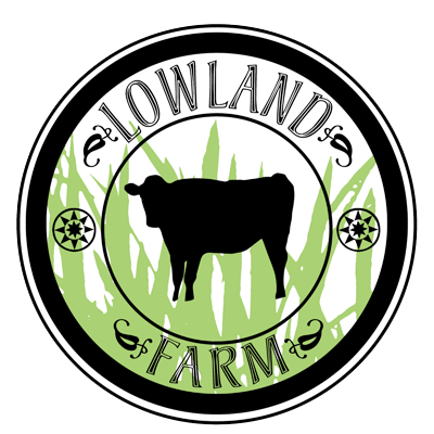 Lowland Farm Grass Fed Beef and Pastured Pork, Warwick NY Retina Logo